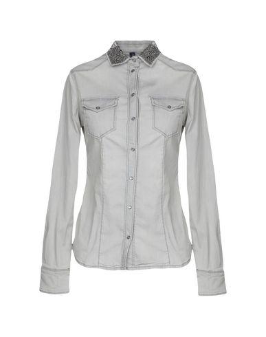 58beb4ee6e Liu •Jo Denim Shirt - Women Liu •Jo Denim Shirts online on YOOX ...