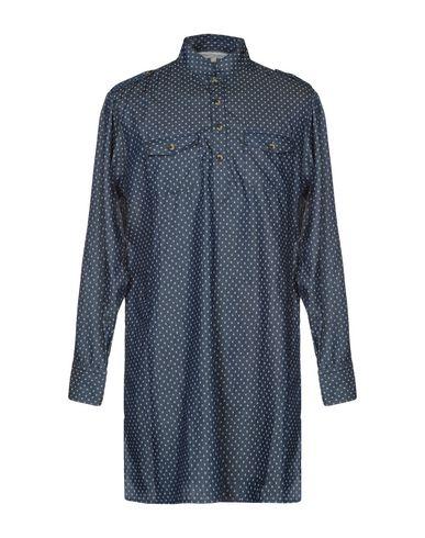 CHRISTOPHE SAUVAT COLLECTION Denim Shirt in Blue