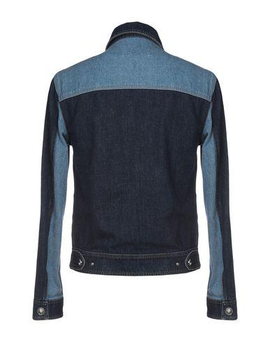 Bleu Versace Jean Blouson Versus En pnXx0OBO