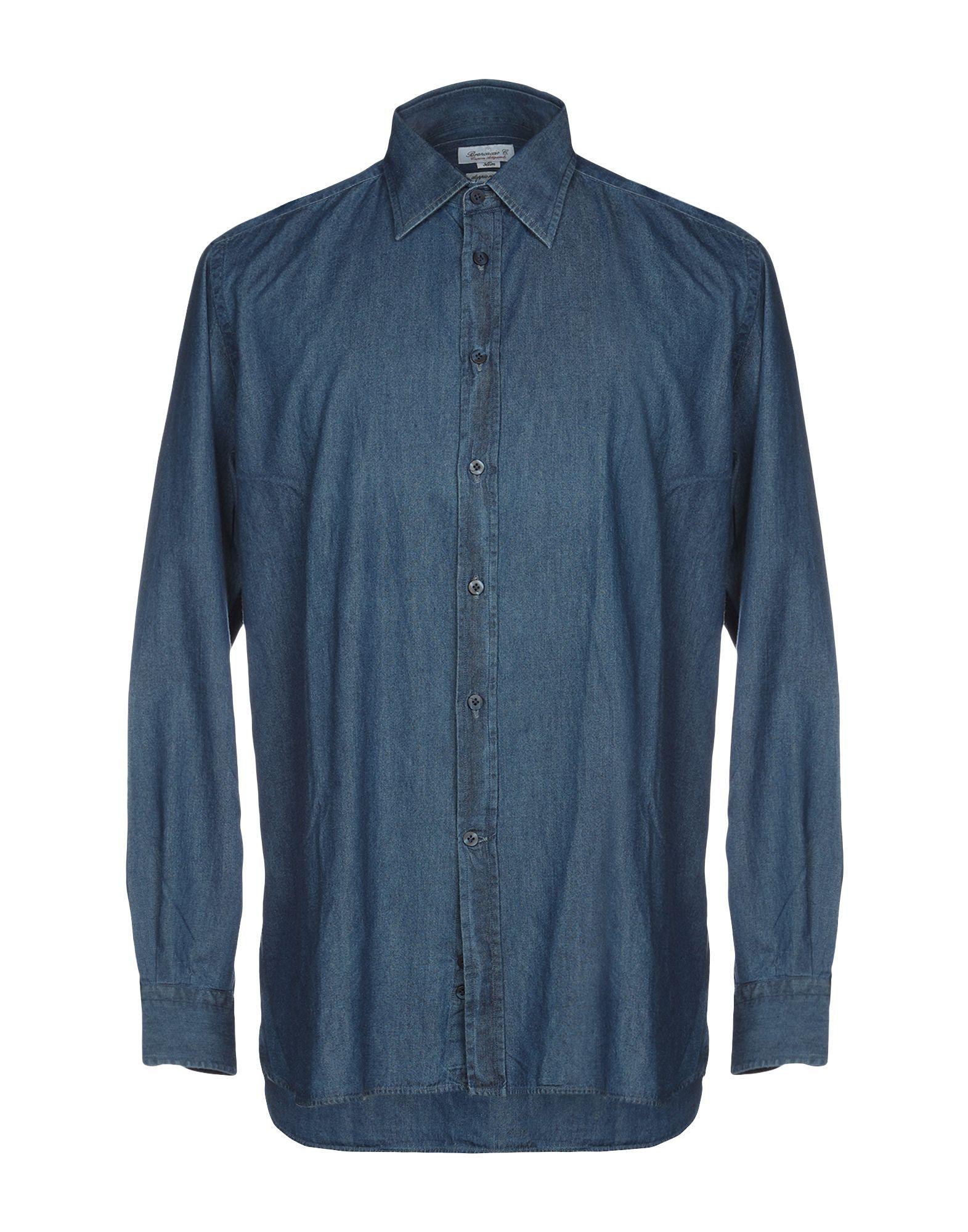 Camicia Camicia Di Jeans Brancaccio C. uomo - 42699434OU  günstigster Preis