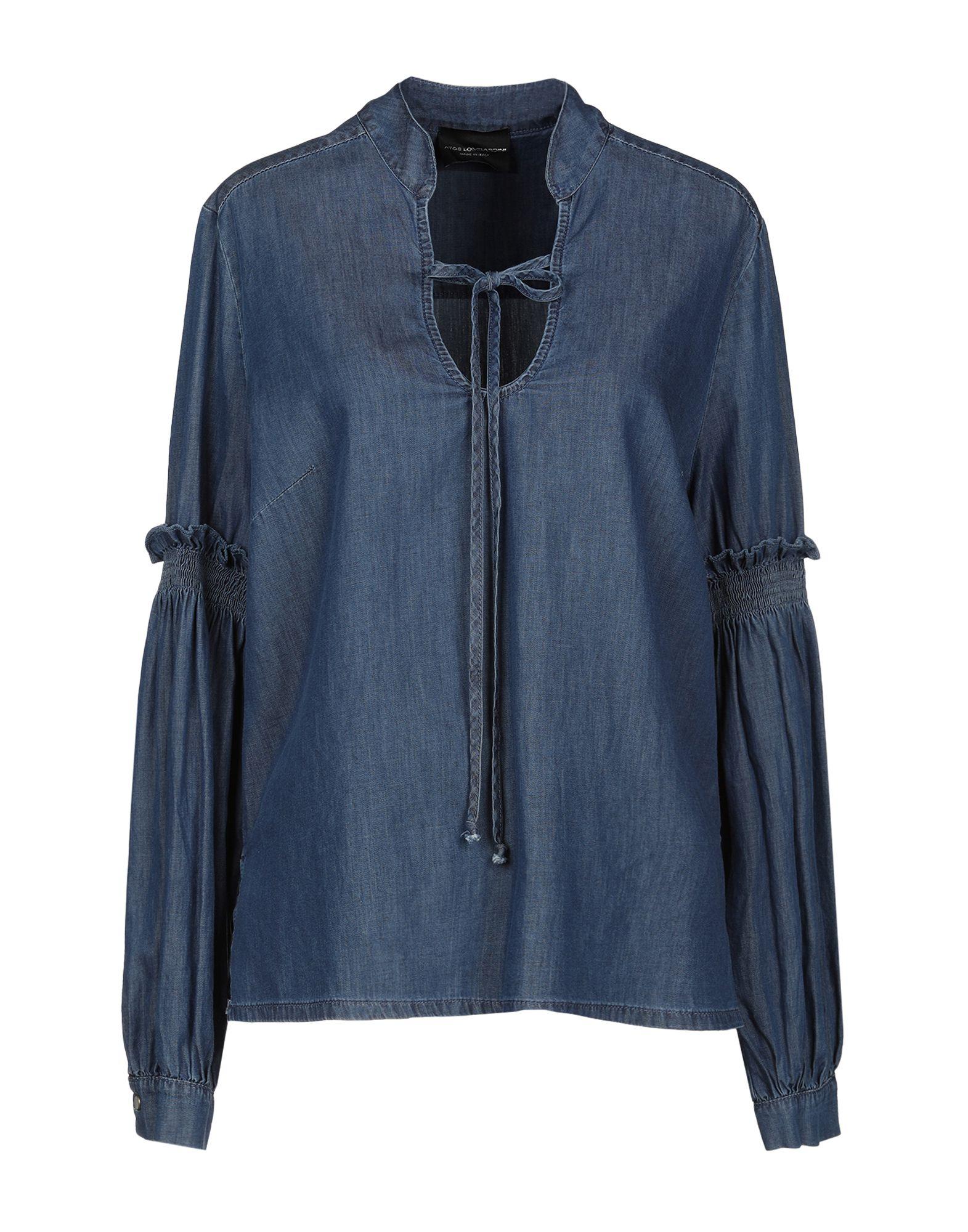 Camicia Di Jeans Atos Lombardini damen - 42700443PL