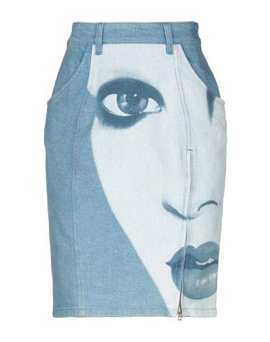 JEREMY SCOTT - Denim skirt