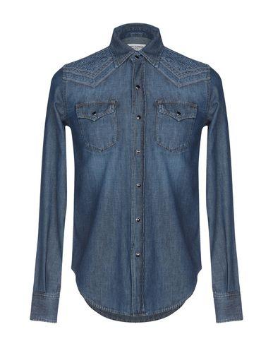 SAINT LAURENT - Denim shirt