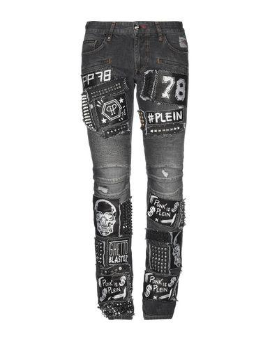8ef7bf83d3 PHILIPP PLEIN Denim trousers - Jeans and Denim | YOOX.COM