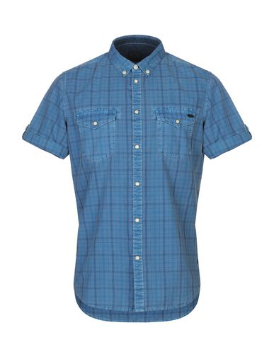 372ff2ed3dd0 Pepe Jeans Denim Shirt - Men Pepe Jeans Denim Shirts online on YOOX ...