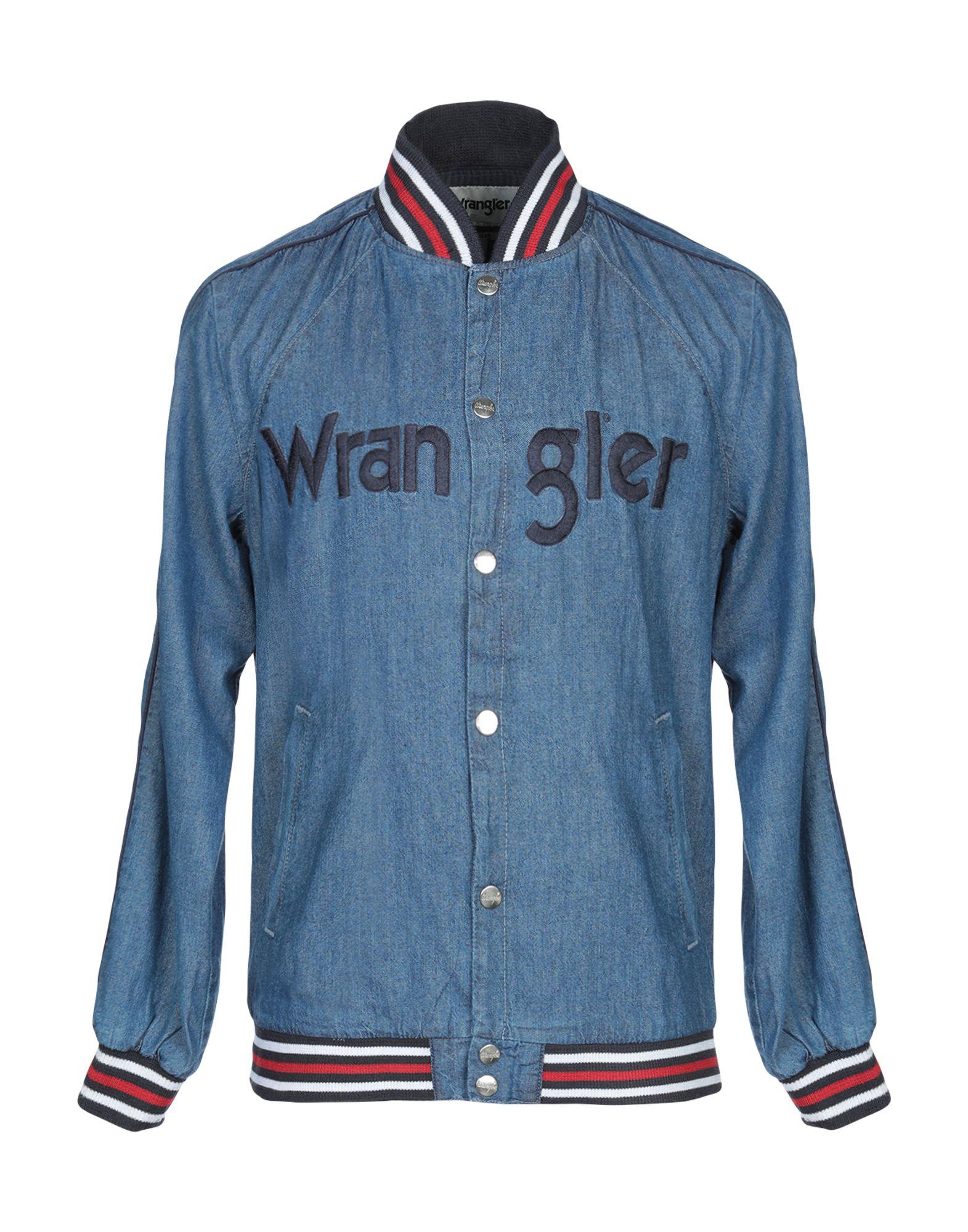 Giubbotto Giubbotto Giubbotto Jeans Wrangler uomo - 42707641MN b4e