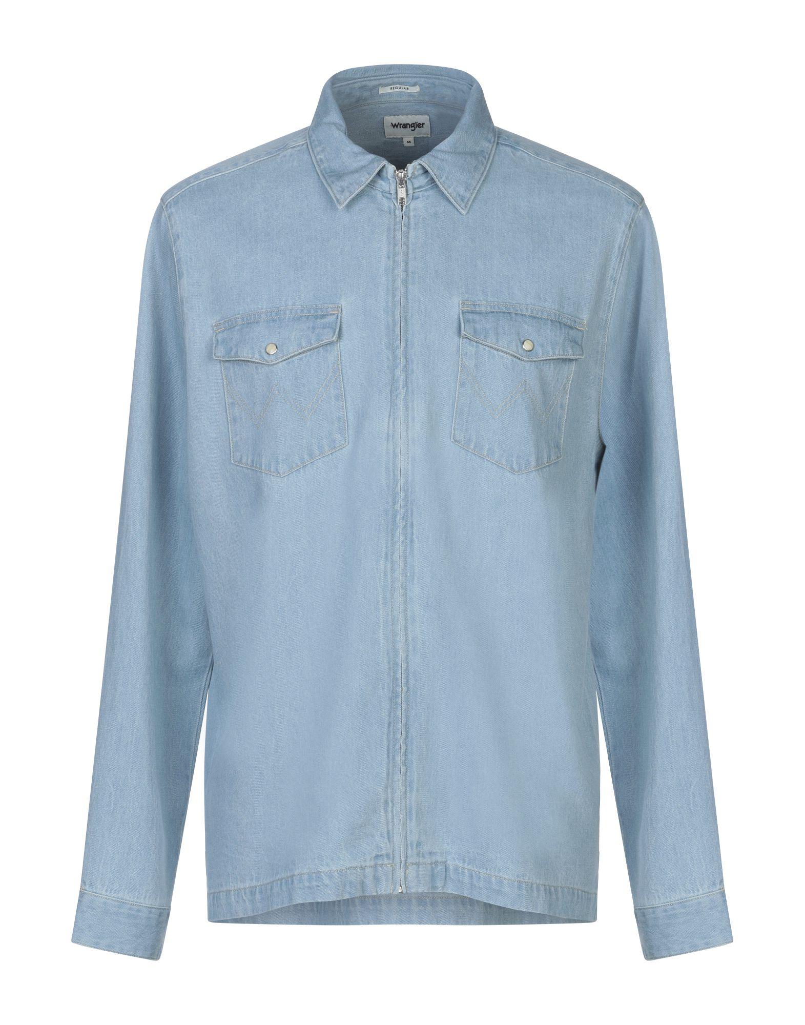 Camicia Di Jeans Wrangler uomo - - - 42707978BO 1c3