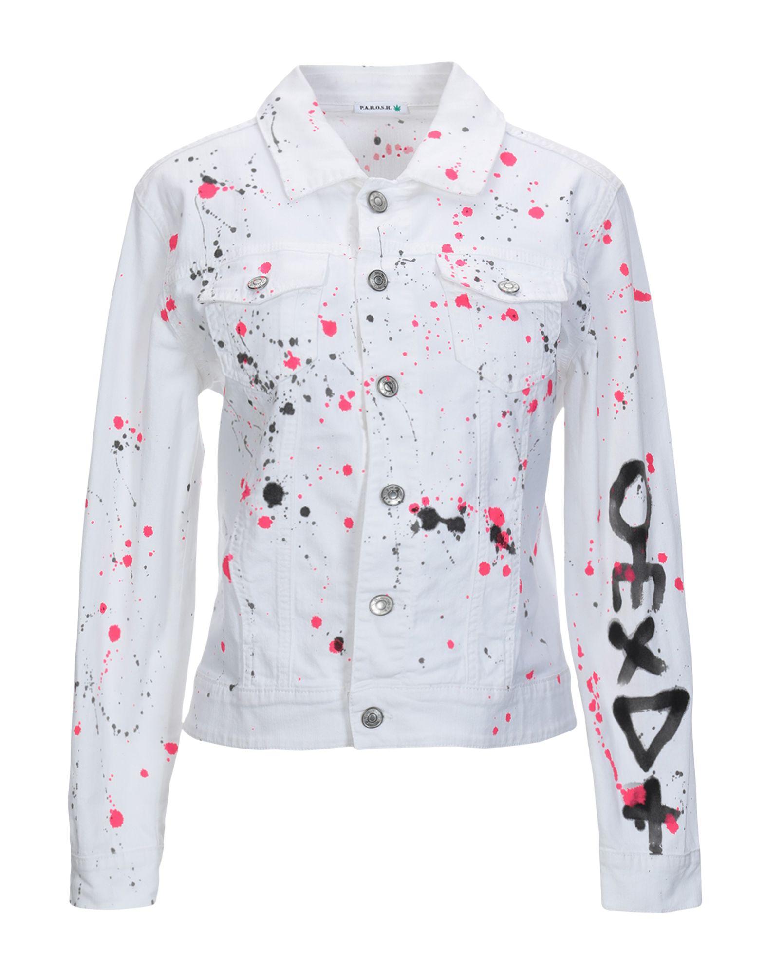 Giubbotto Giubbotto Jeans P.A.R.O.S.H. donna - 42708068XK  Förderungen