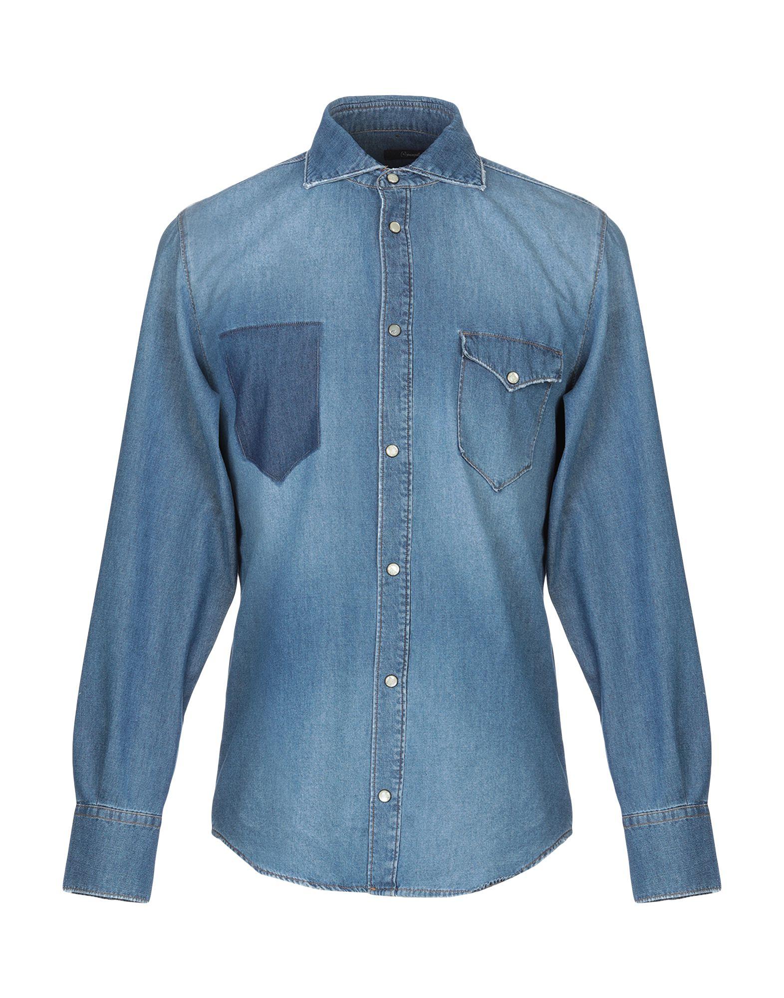 Camicia Di Jeans (+) People herren - 42708382MW