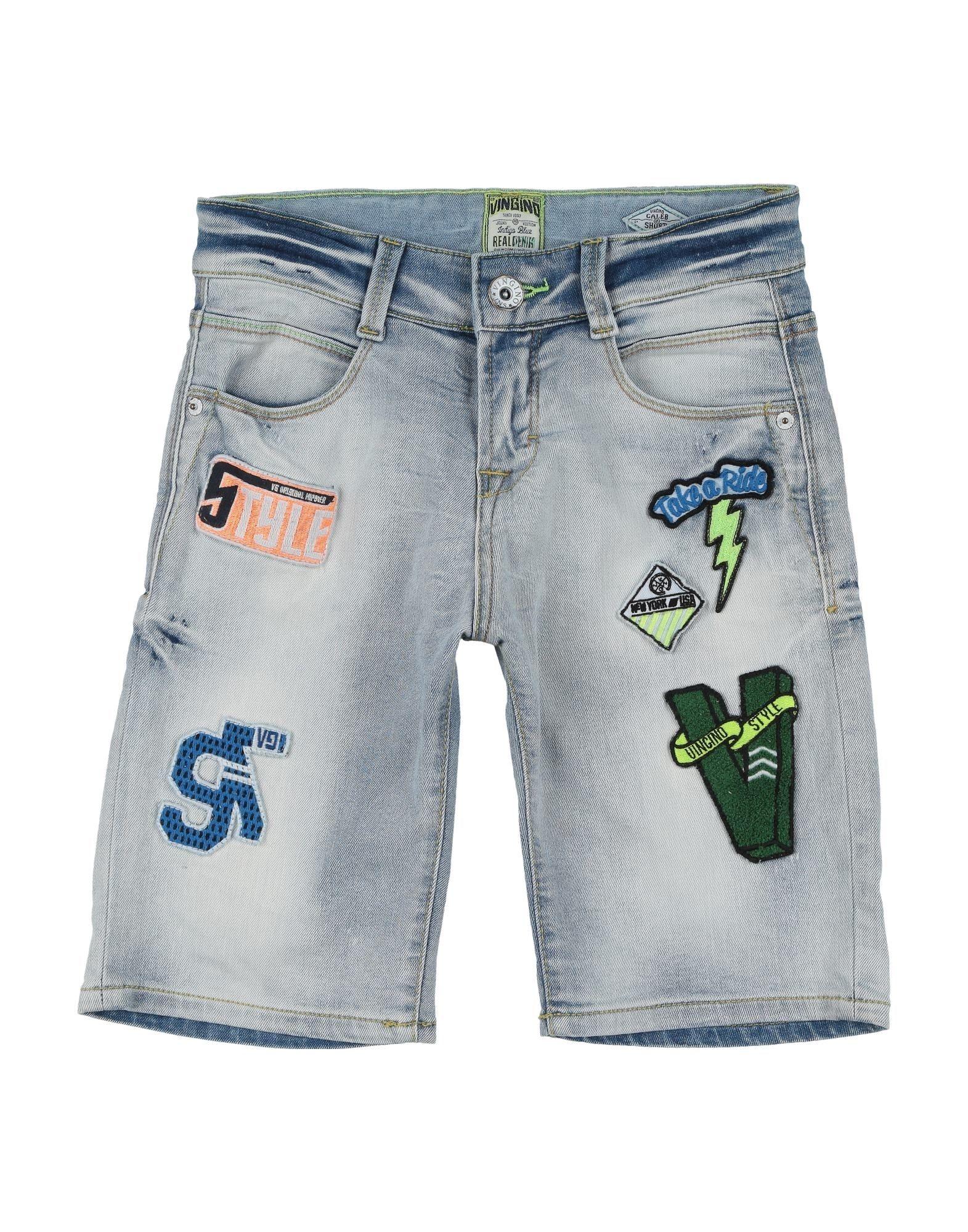 fec8e083e21e63 Vingino Denim Shorts Boy 9-16 years online on YOOX Switzerland