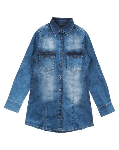 san francisco bda9e 2a3e8 PHILIPP PLEIN Camicia di jeans - Camicie | YOOX.COM