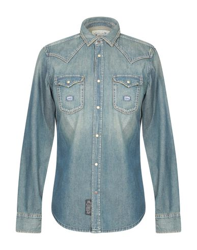 28f5c596523 Diesel Denim Shirt - Men Diesel Denim Shirts online on YOOX ...