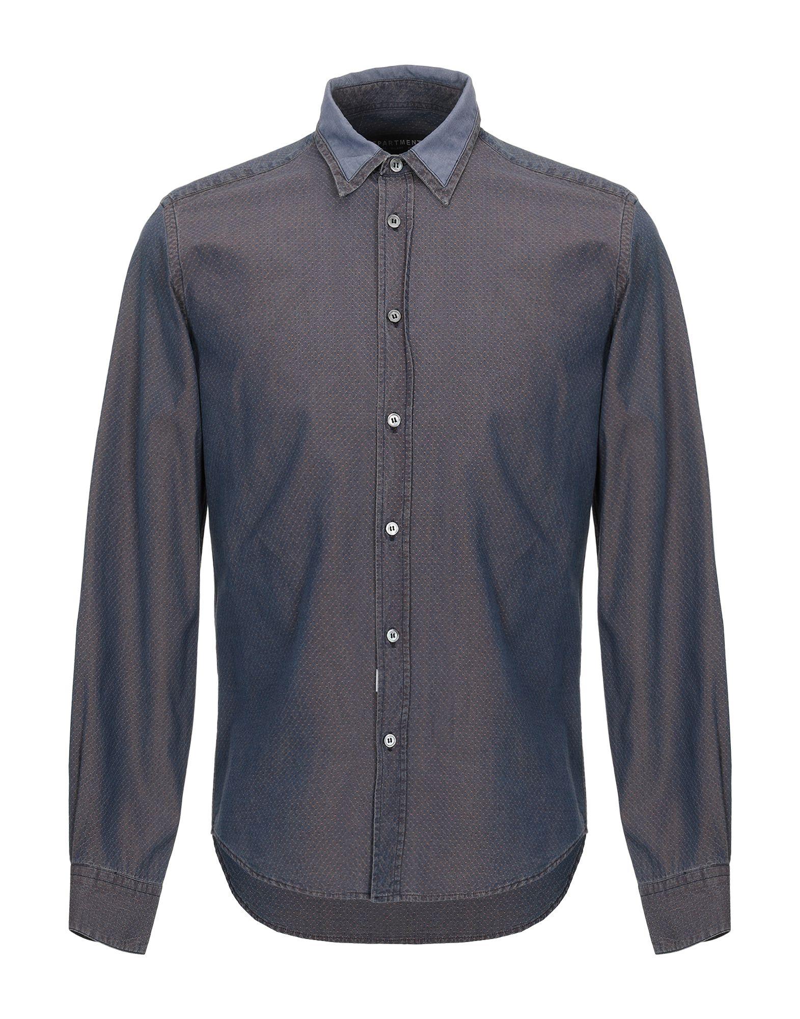 Camicia Di Jeans Department 5 herren - 42715308CP