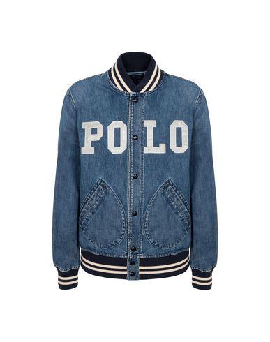 5df2f918afe8 Polo Ralph Lauren Varsity Inspired Denim Jacket - Denim Jacket - Men ...