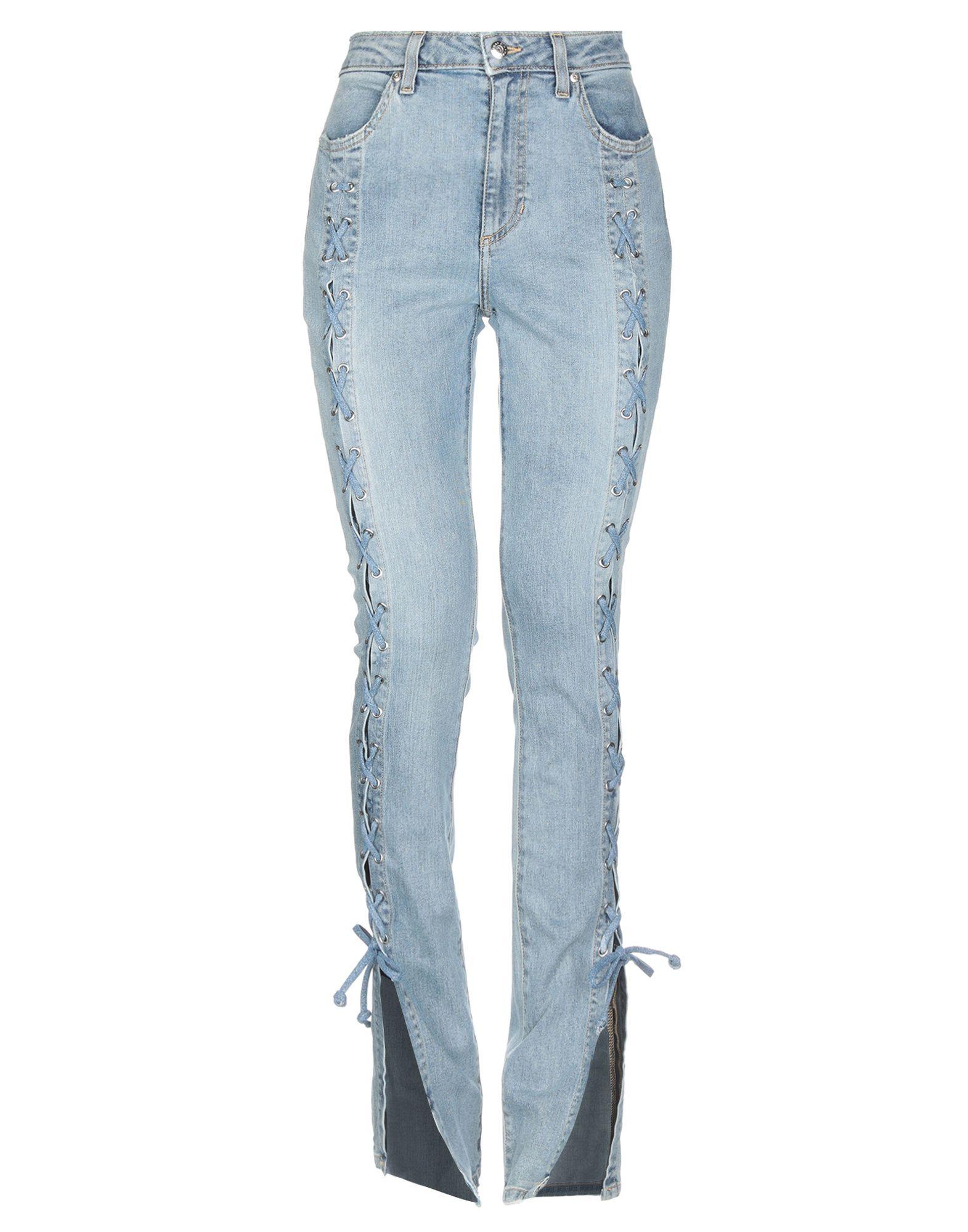 3d61ea734a62 Pantaloni Jeans Jonathan Simkhai Donna - Acquista online su YOOX -  42721255EO