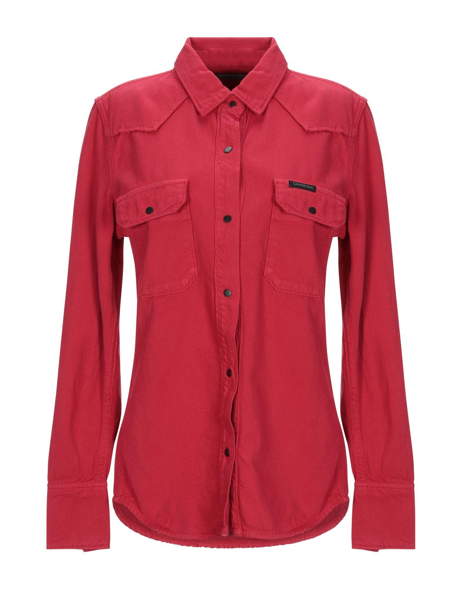 6aed0c4ff04 Calvin Klein Denim Shirts - Calvin Klein Women - YOOX Hong Kong