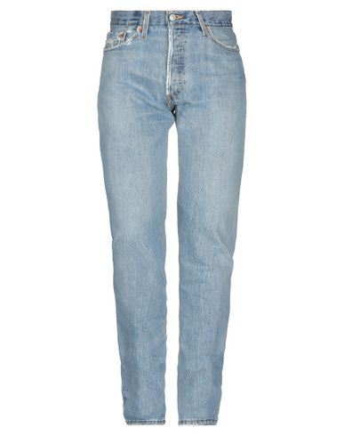 Re/done By Levi's Denim Pants In Blue