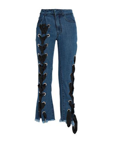 MARQUES' ALMEIDA - Denim trousers
