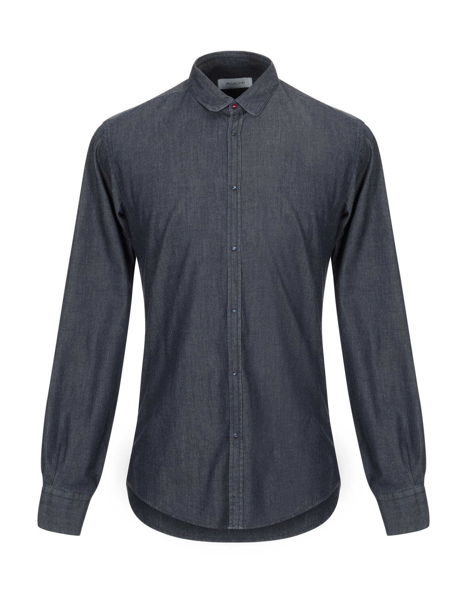 Camicia Di Jeans Aglini herren - 42725322DK