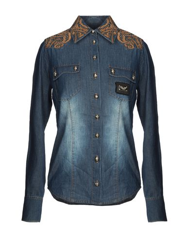PHILIPP PLEIN - Denim shirt