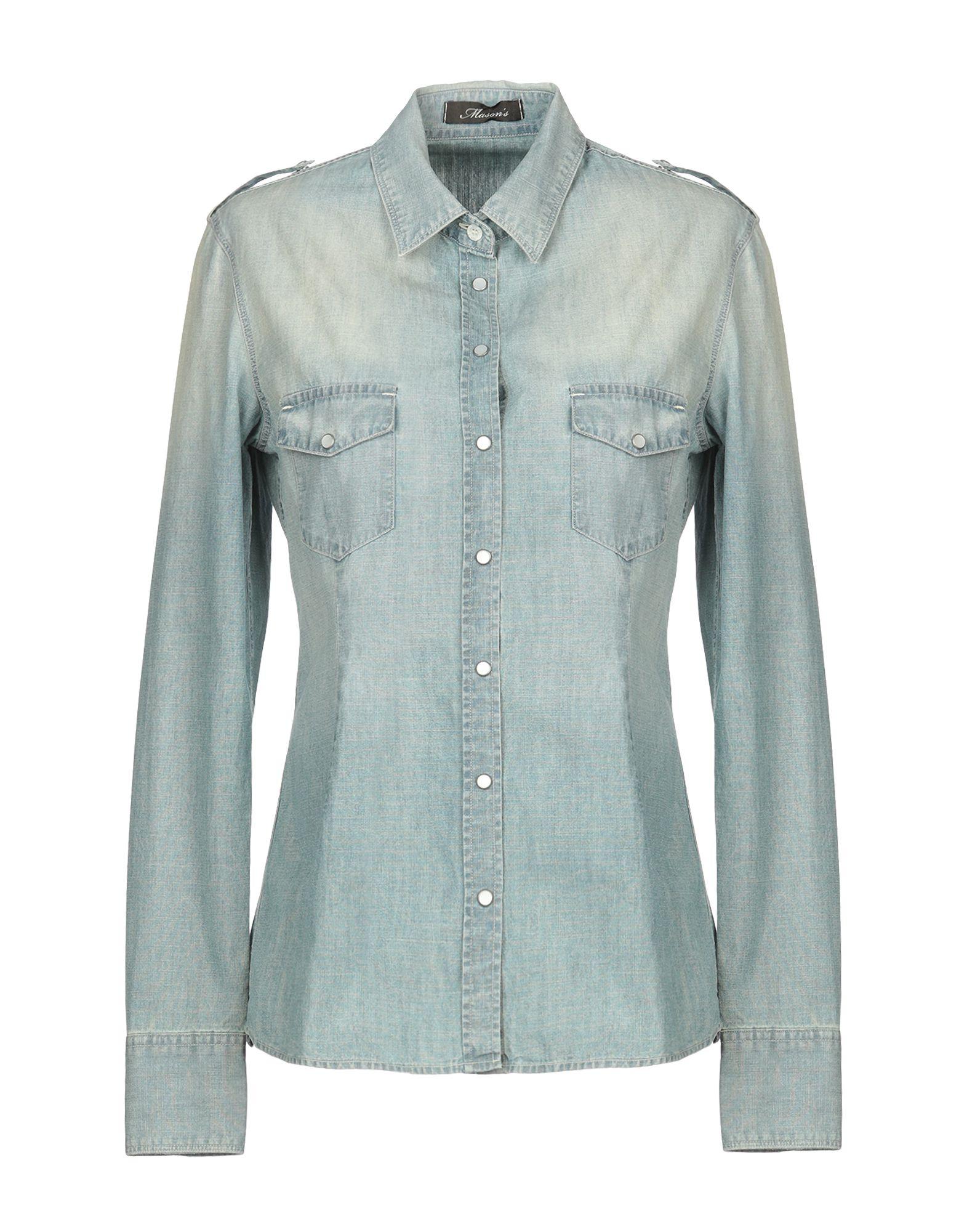Camicia Di Jeans Mason's damen - 42727603SM
