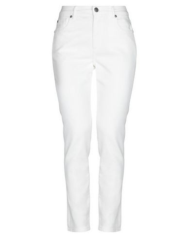Acynetic Denim Pants In White