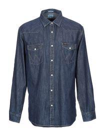 f20de57c593 Джинсовые Рубашки от Wrangler для Мужчин - YOOX Россия