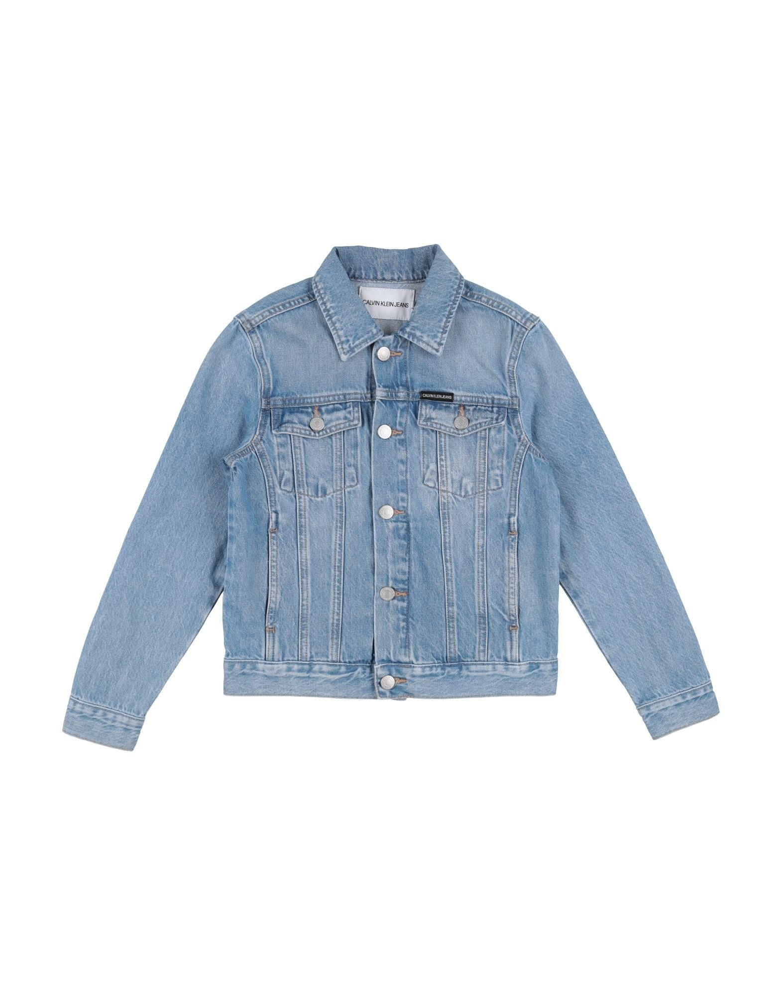 ffdcced5cbe Calvin Klein Jeans Denim Jacket Boy 9-16 years online on YOOX Romania