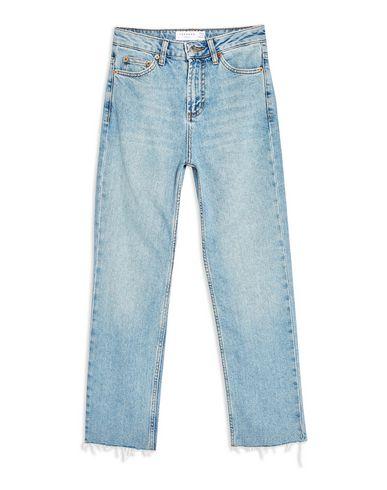 fc9ccd344d69 Pantaloni Jeans Topshop Authentic Raw Hem Straight Leg Jeans - Donna ...