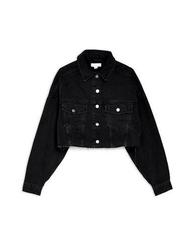 1f47fb8d554 Topshop Hacked Off Denim Cropped Jacket - Denim Jacket - Women ...