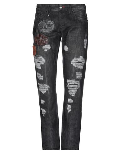 9f4f4345a5 PHILIPP PLEIN Denim pants - Jeans and Denim | YOOX.COM