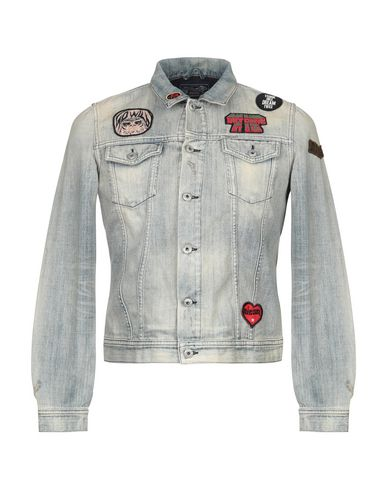 outlet online buying new new images of DIESEL Denim jacket - Jeans and Denim | YOOX.COM