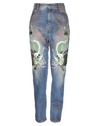 5e25c2371577 Pantaloni Jeans Gucci Donna - Acquista online su YOOX - 42738669DF