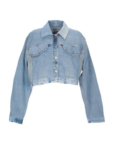 Re/done By Levi's Denim Jacket In Blue