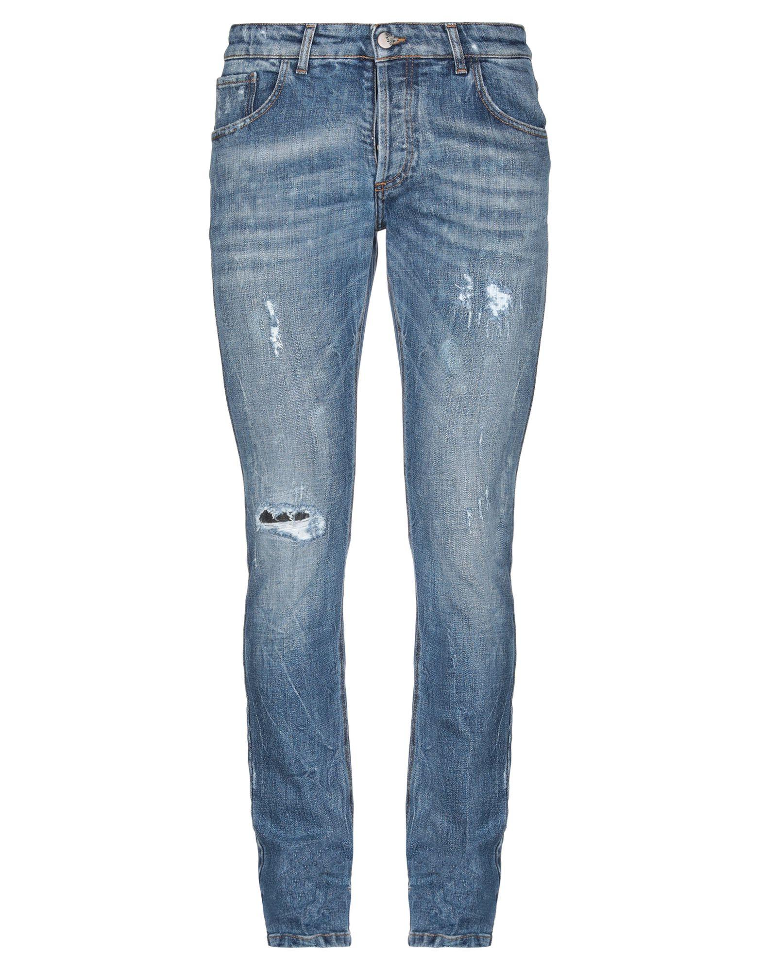 Pantaloni Jeans Entre Amis herren - 42743840SV