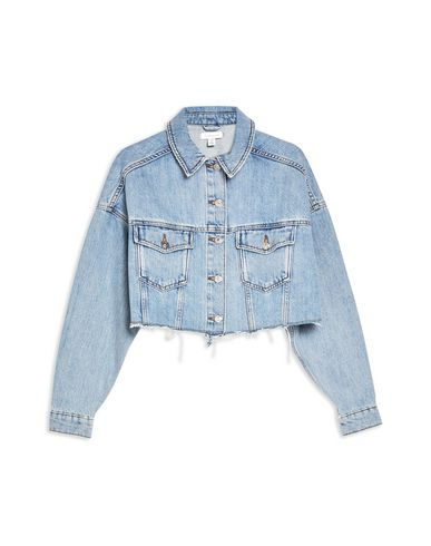 Topshop Denim Jacket   Jeans And Denim by Topshop