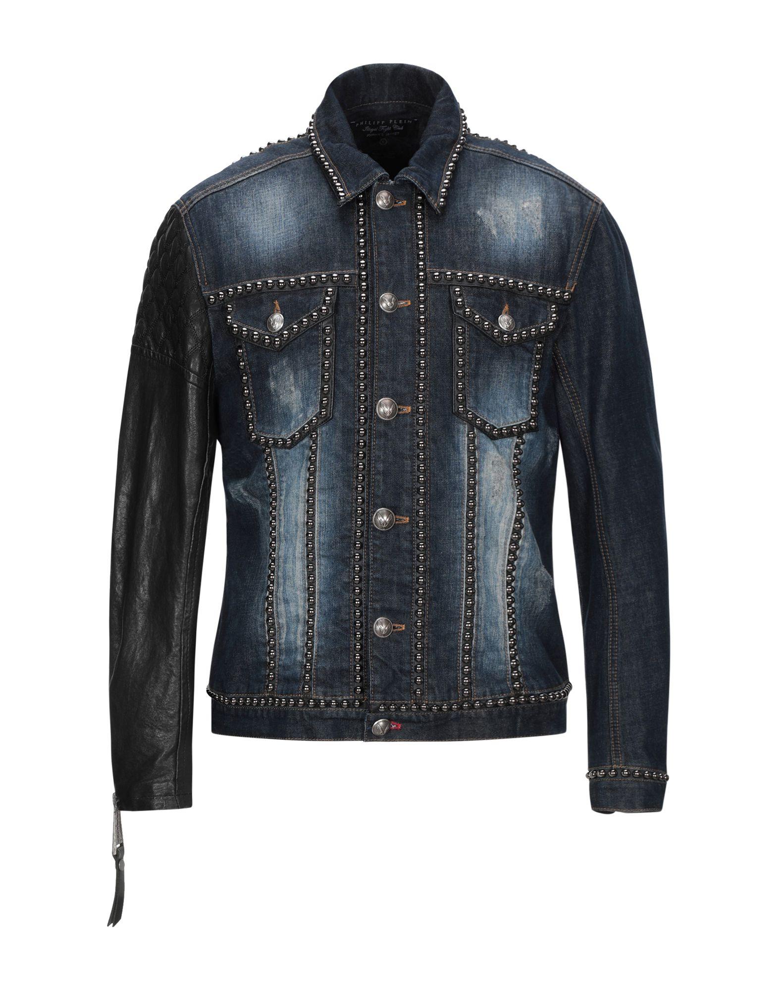 Giubbotto Jeans Jeans Jeans Philipp Plein uomo - 42748940SX baa