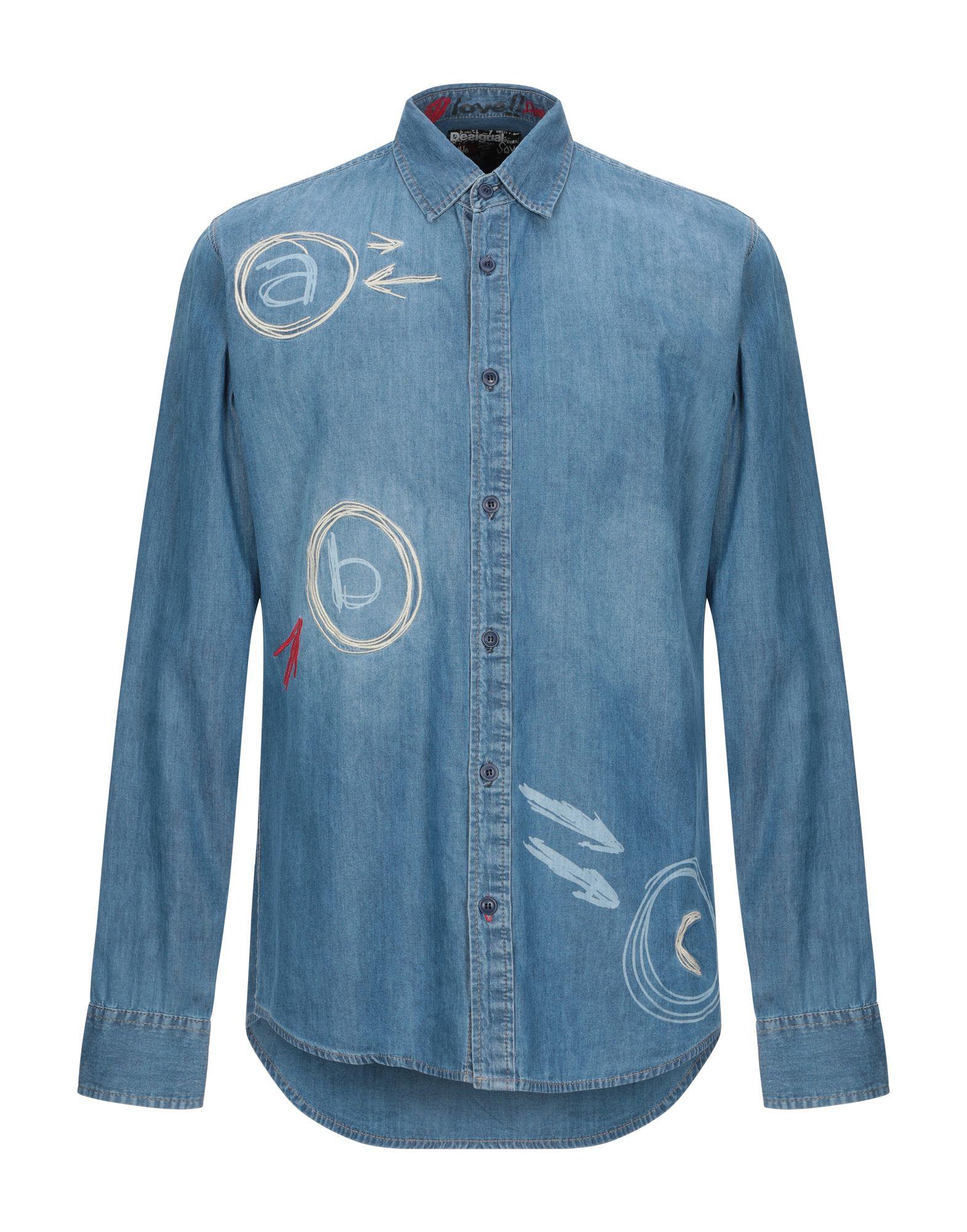 Camicia Di Jeans Desigual herren - 42756848AJ