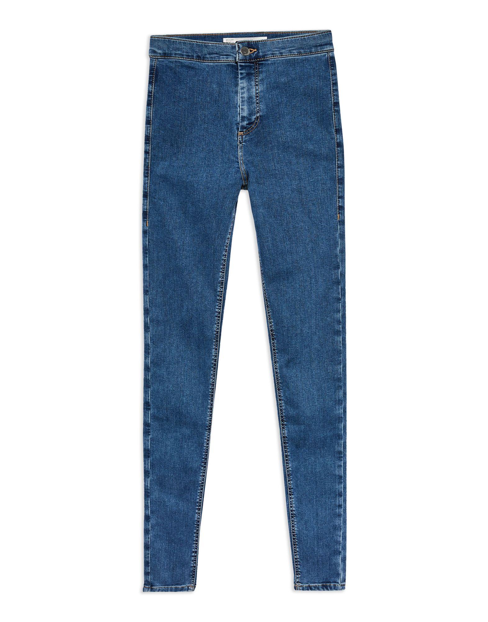Pantaloni Jeans Topshop Mid blu Joni Joni Jean - donna - 42757136FR