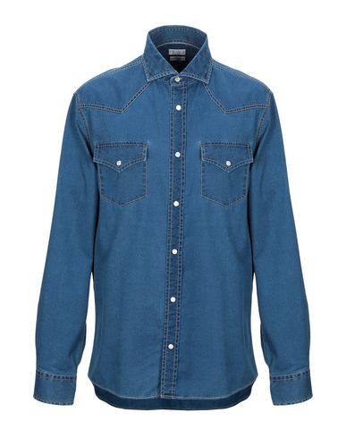Brunello Cucinelli T-shirts Denim shirt