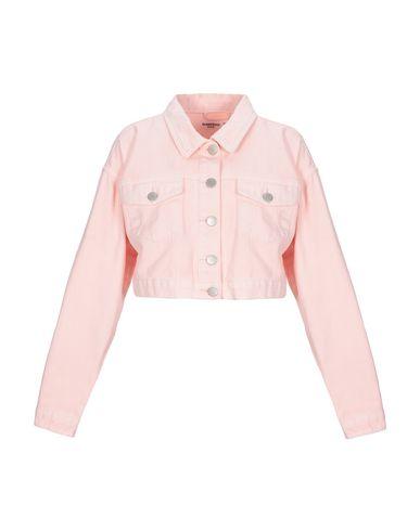 Glamorous Denim Jacket In Light Pink