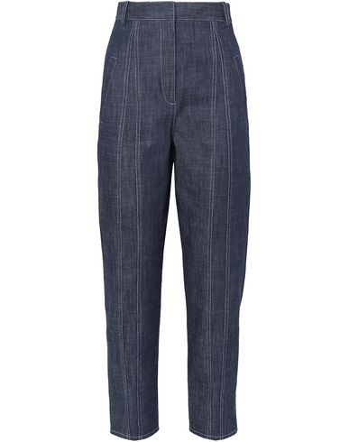 Tibi Denim Pants In Blue