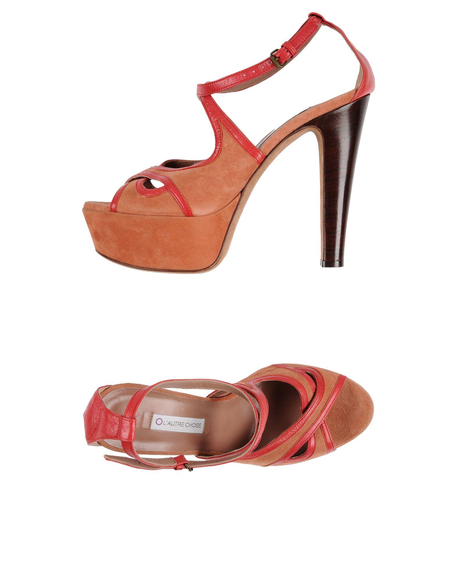 L' Autre Chose Sandalen Damen  44478698PU Neue Schuhe
