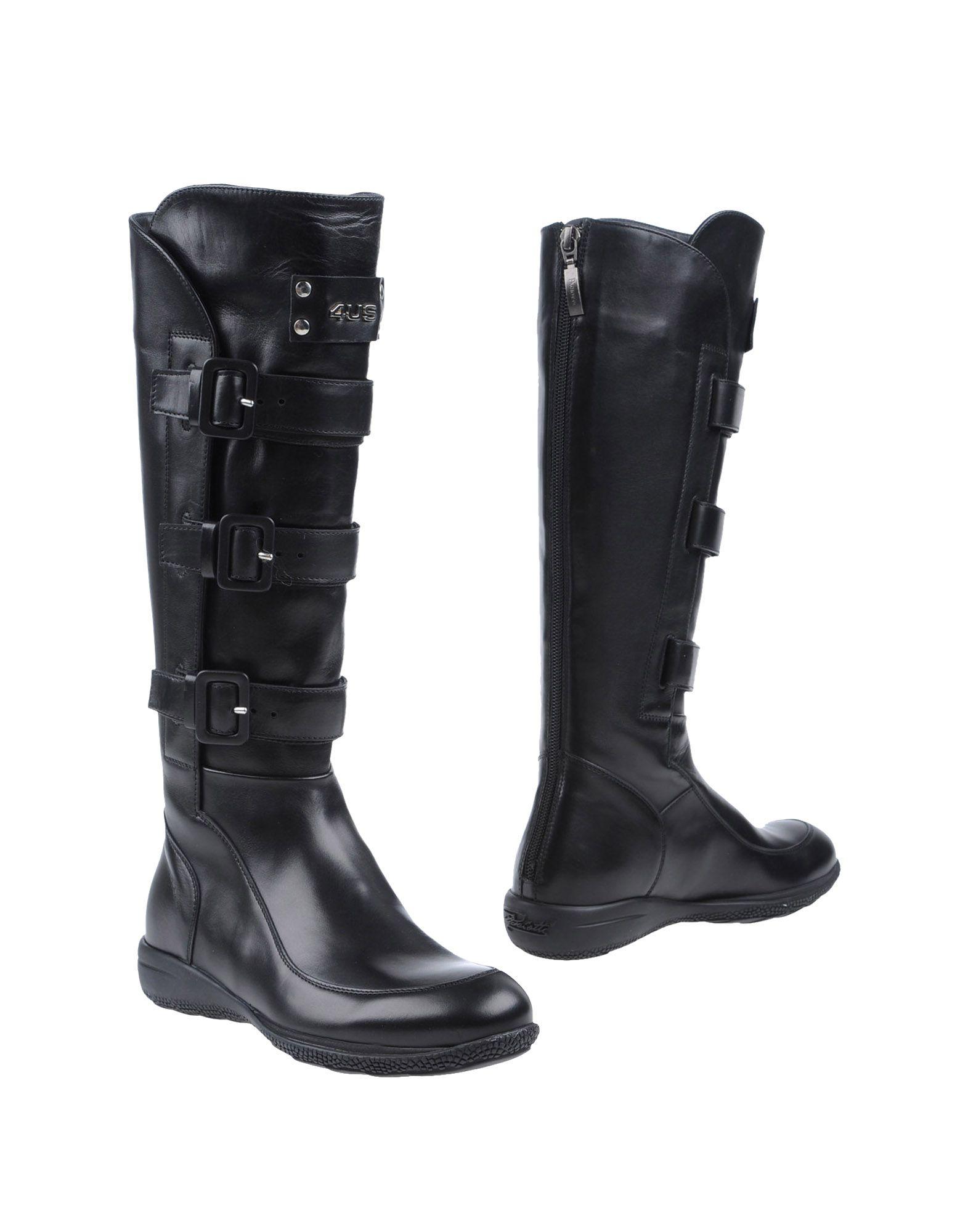 Cesare Paciotti 4Us Stiefel Damen  44513074VN Neue Schuhe