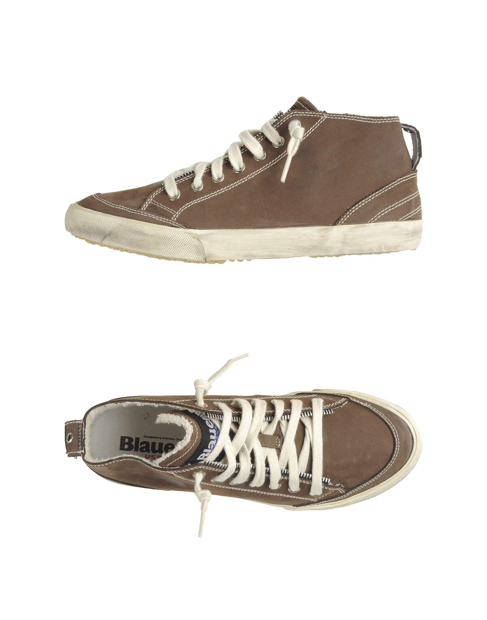 Blauer Sneakers Herren  44526004VQ Gute Qualität beliebte Schuhe