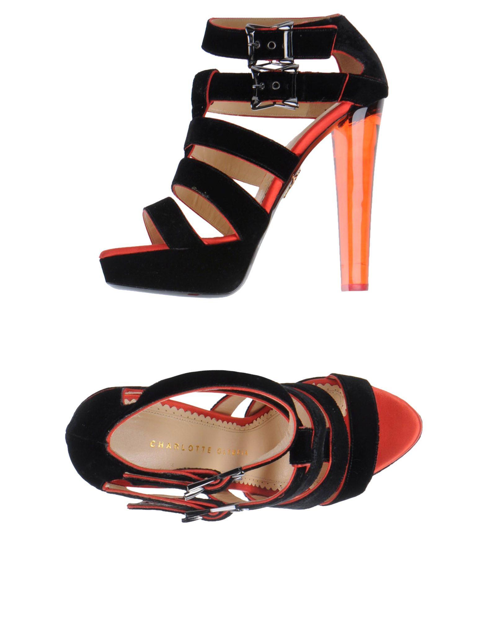 Charlotte Olympia Sandalen aussehende Damen  44545720ELGünstige gut aussehende Sandalen Schuhe 459fb3