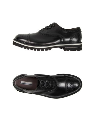 ANDREA POMPILIO Laced Shoes in Black