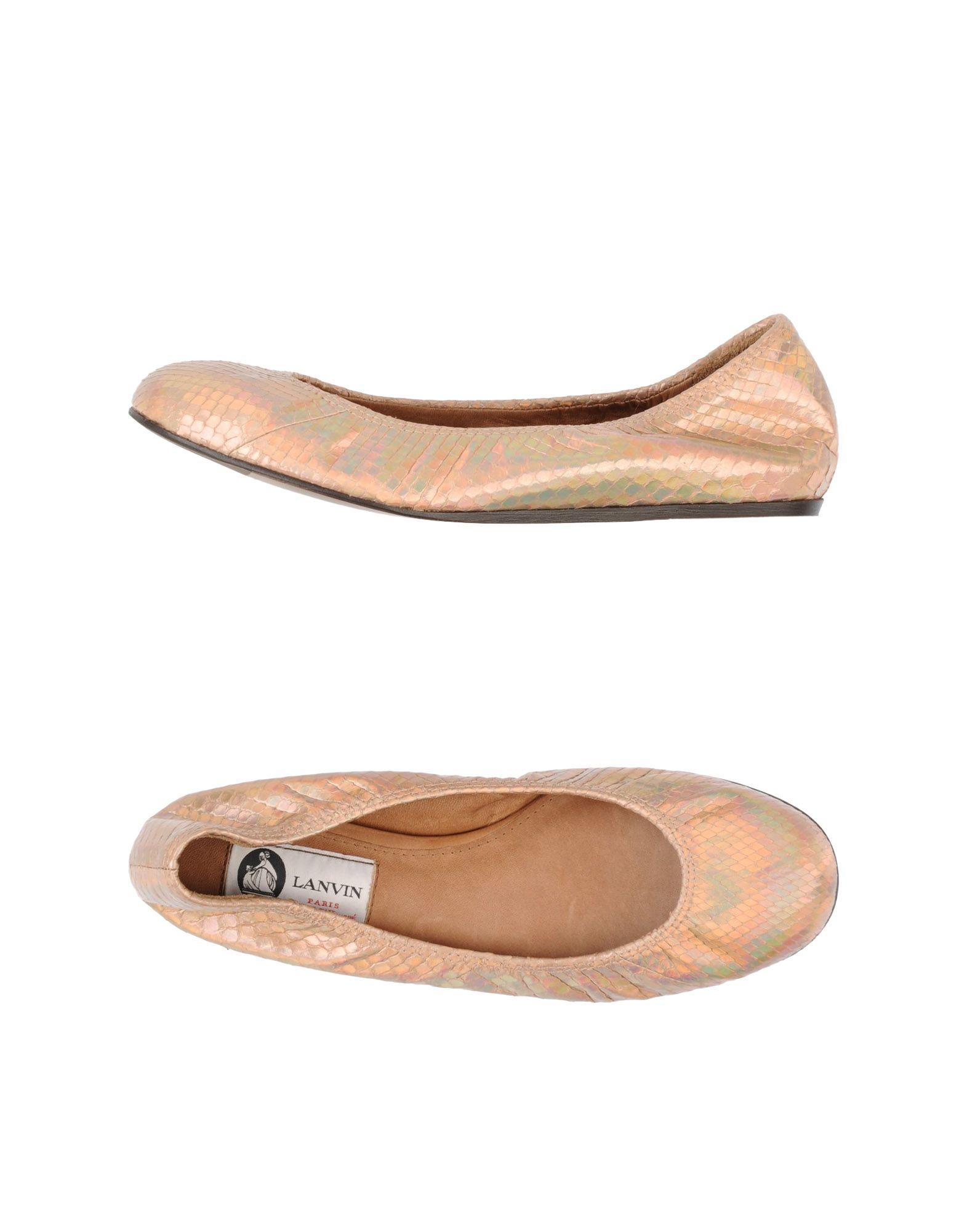 Lanvin Ballet Flats - Women Lanvin Ballet Ballet Ballet Flats online on  United Kingdom - 44598380KF 4215a6