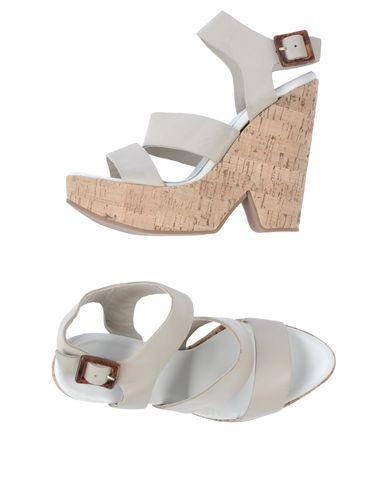 SERAFINI ETOILE Sandals in Light Grey