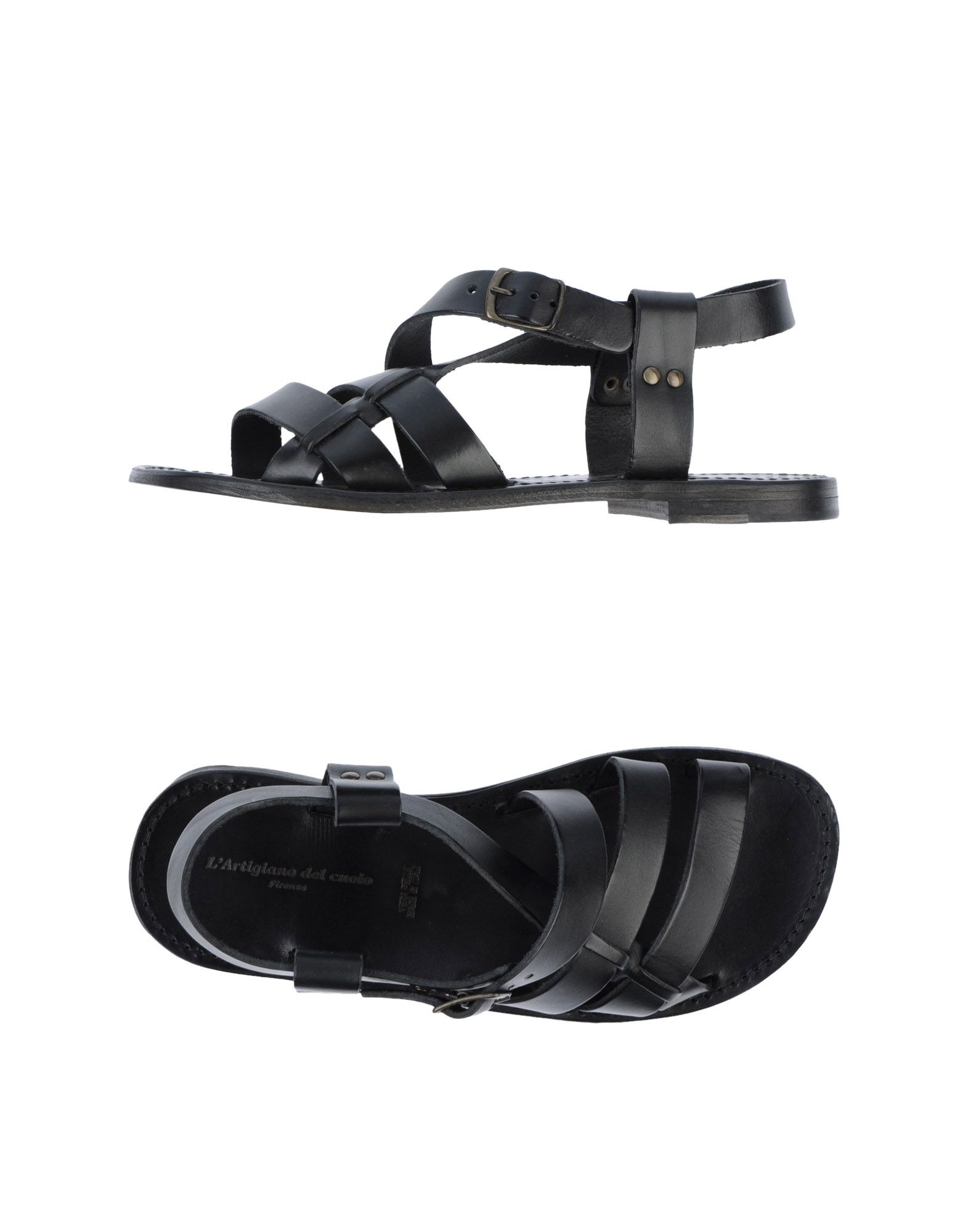 Rabatt echte Schuhe L'artigiano Del Cuoio Sandalen Herren  44610830OR